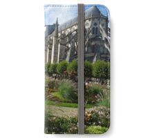Bourges : Cathedral garden  iPhone Wallet/Case/Skin