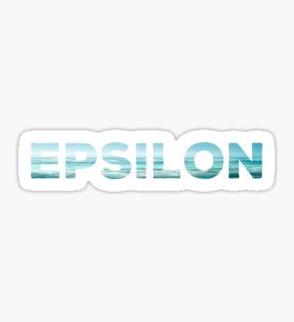 Epsilon Sticker