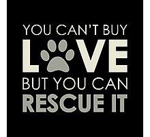 Rescue Love Photographic Print