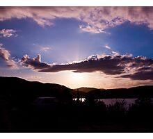 Surreal sky Photographic Print