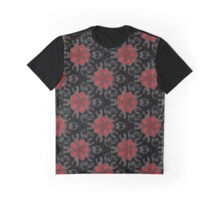 Red deco pattern Graphic T-Shirt