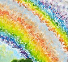 Rainshine over Morawa : Panel 3 by Elizabeth Sheppard