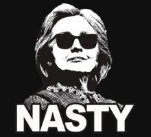 Hillary Clinton - Nasty Woman One Piece - Short Sleeve