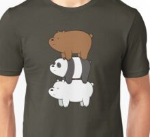 We Bare Bears Stacked Up Unisex T-Shirt