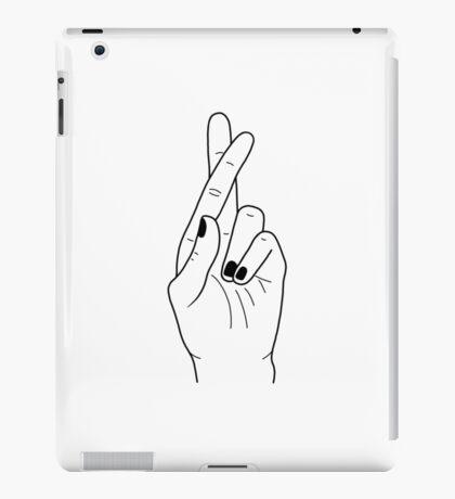 Troye Sivan Crossed Fingers (Troye's Hand) iPad Case/Skin