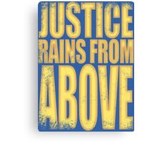 Pharah - Justice Rains from Above Canvas Print
