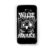 Wide Awake Owl - White Samsung Galaxy Case/Skin