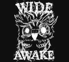 Wide Awake Owl - White Hoodie