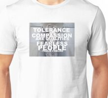 Tolerance and Compassion Unisex T-Shirt