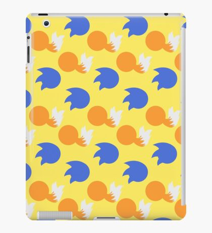 Sonic and Tails (yellow) iPad Case/Skin