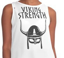 Viking Strength Workout Training Black Gym Men's T-Shirt by Cyrca Originals Contrast Tank