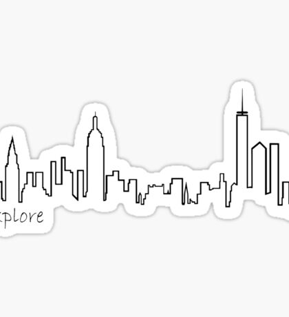 New York City - Explore Series Sticker