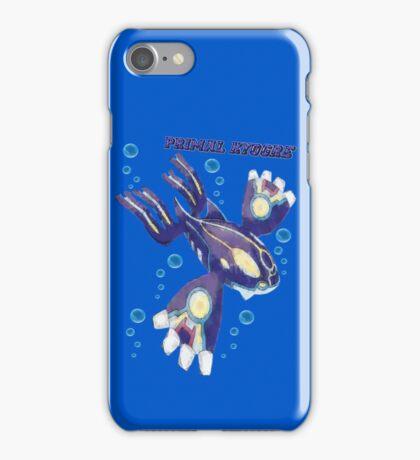 Primal Kyogre (Pokemon Alpha Sapphire) iPhone Case/Skin