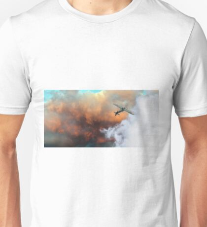 Hawker Hurricane sunset roll Unisex T-Shirt