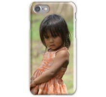 Una niña en Ivochote iPhone Case/Skin