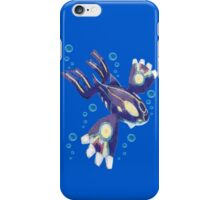 Only Primal Kyogre (Pokemon Alpha Sapphire) iPhone Case/Skin