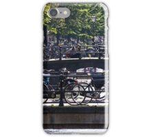 Bridges and Bikes - Amsterdam, Holland iPhone Case/Skin