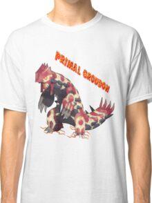 Primal Groudon (Pokemon Omega Ruby) Classic T-Shirt