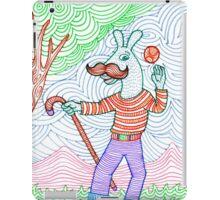 Happy Donkey farmer  iPad Case/Skin