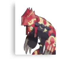 Primal Groudon Canvas Print