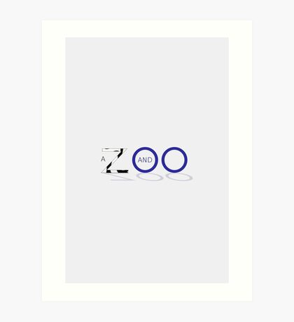 A Zed and Two Noughts alternative movie poster Art Print