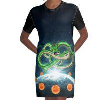 Shenron & The Super Dragon Balls Graphic T-Shirt Dress