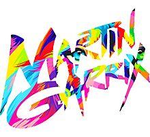 MARTIN GARRIX COLORS Photographic Print