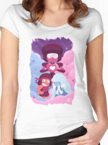 Garnet - Made of Love Women's Fitted Scoop T-Shirt