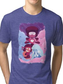 Garnet - Made of Love Tri-blend T-Shirt