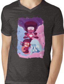 Garnet - Made of Love Mens V-Neck T-Shirt