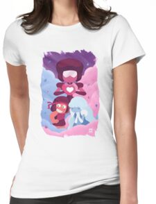 Garnet - Made of Love Womens Fitted T-Shirt