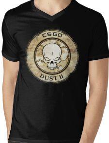 Counter Strike Dust II Mens V-Neck T-Shirt