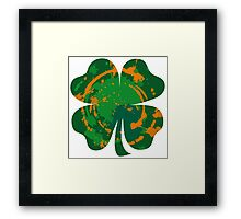 Cool Lucky clover and Ink Nr. 03 Framed Print