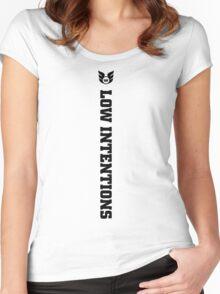 LI - Vert Black Women's Fitted Scoop T-Shirt