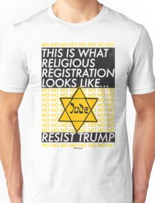 This Is What Religious Registration Looks Like Unisex T-Shirt
