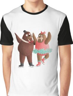 Walrus Pair Graphic T-Shirt