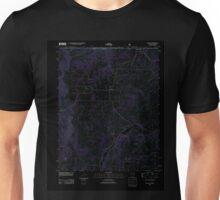 USGS TOPO Map Arkansas AR Blue Eye 20120105 TM Inverted Unisex T-Shirt