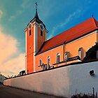 The village church of Neufelden I | architectural photography by Patrick Jobst