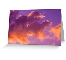 Cloud dragon Greeting Card