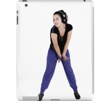 Sports and dance girl iPad Case/Skin