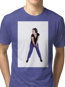 Sports and dance girl Tri-blend T-Shirt
