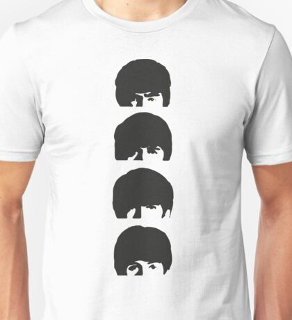 The Beatles Stacked Unisex T-Shirt