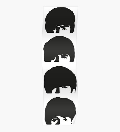 The Beatles Stacked Poster