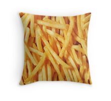To Fry Or Not To Fry Throw Pillow