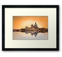 Basilica di Santa Maria della Salute, Venice Framed Print