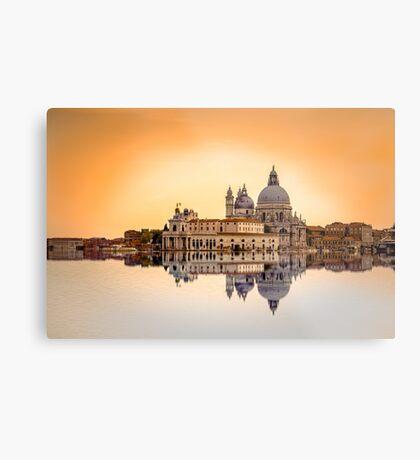 Basilica di Santa Maria della Salute, Venice Metal Print