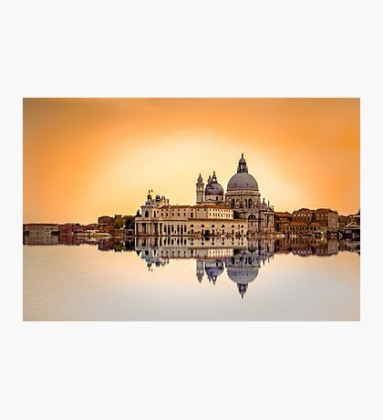 Basilica di Santa Maria della Salute, Venice Photographic Print