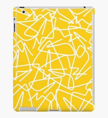 Airplane line iPad Case/Skin