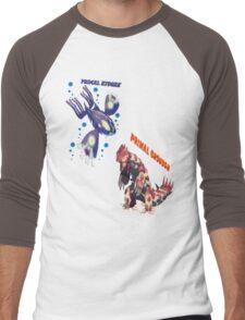 Primal Groudon & Primal Kyogre Men's Baseball ¾ T-Shirt
