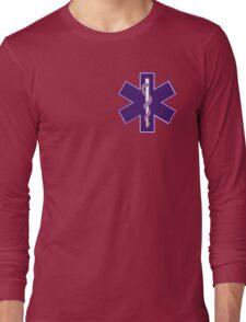 Ekans Staff of Asclepius Long Sleeve T-Shirt